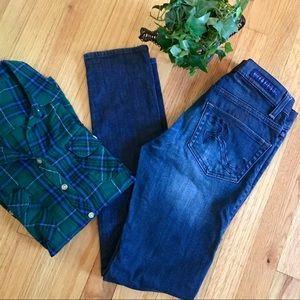 LIKE NEW Rock & Republic skinny jeans